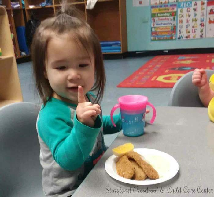 The Toddler Program at Storyland Preschool and Child Care Center