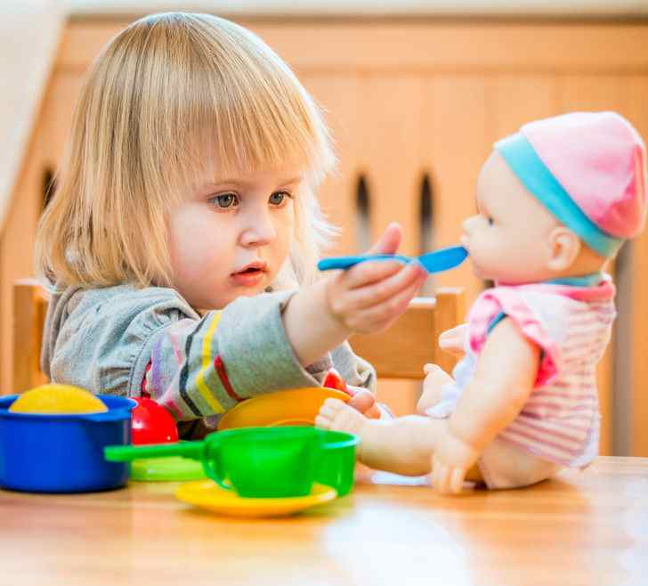 Typical toddler play involves little interaction among children.