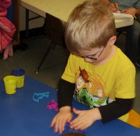 Preschool activities at Storyland Preschool and Child Care Center, Amarillo Texas