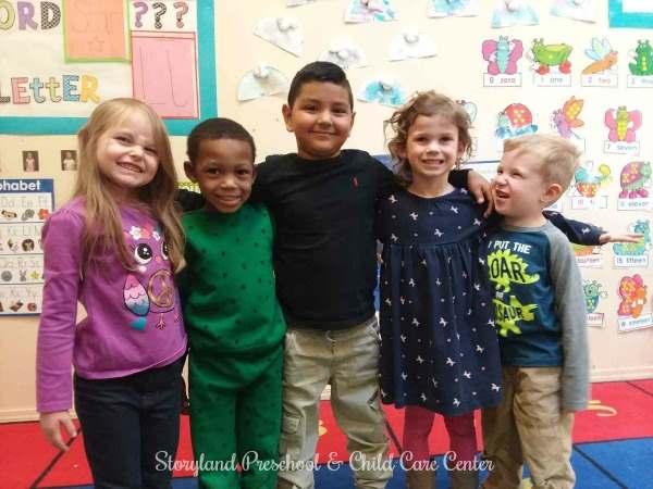 We have a very comprehensive preschool program here at Storyland Preschool with the goals of preparing children for kindergarten
