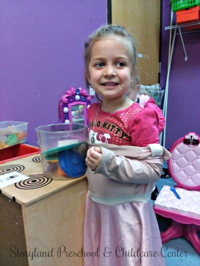 One goal of our preschool program is to guide social and emotional development