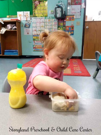 Storyland Preschool and Childcare Center Weekly Menus