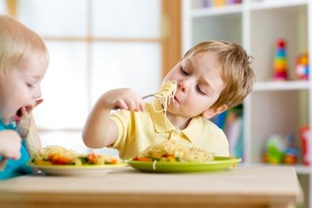 The Child Care Food Program assures that children get the right quality and amount of food for healthy development