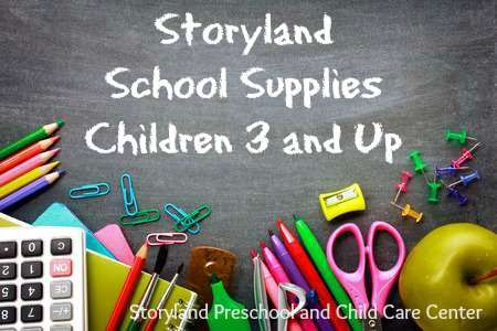 Family Resources:  Supply List
