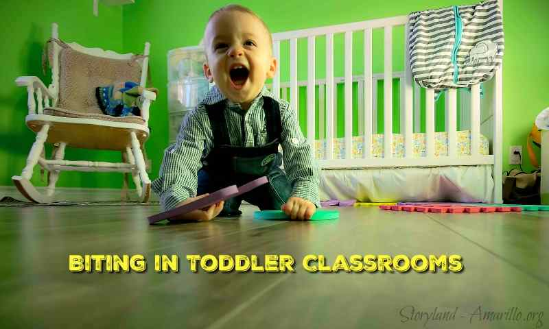 Biting in Toddler Classrooms